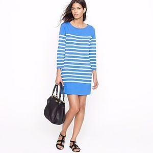 J. Crew // Martime Dress in Skinny Stripe 73194